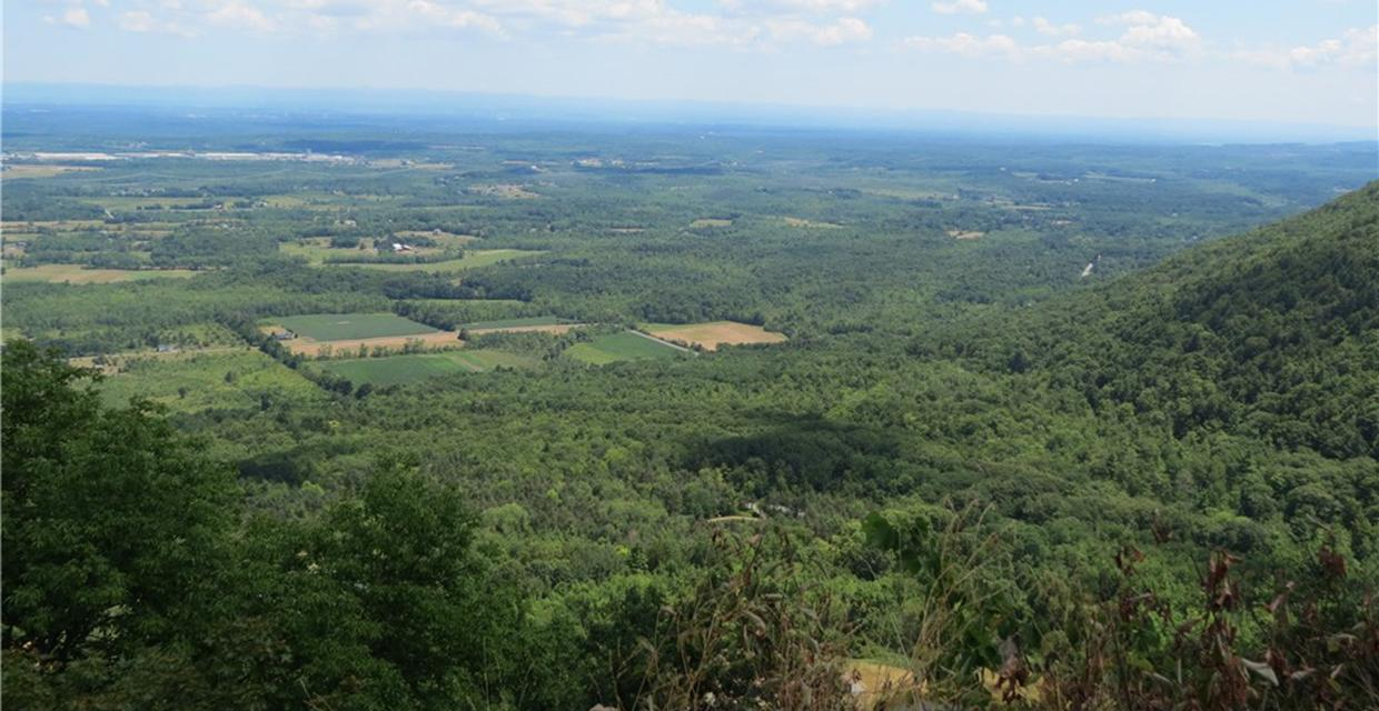 View from High Point Overlook - John Boyd Thacher State Park - Photo credit: Daniela Wagstaff