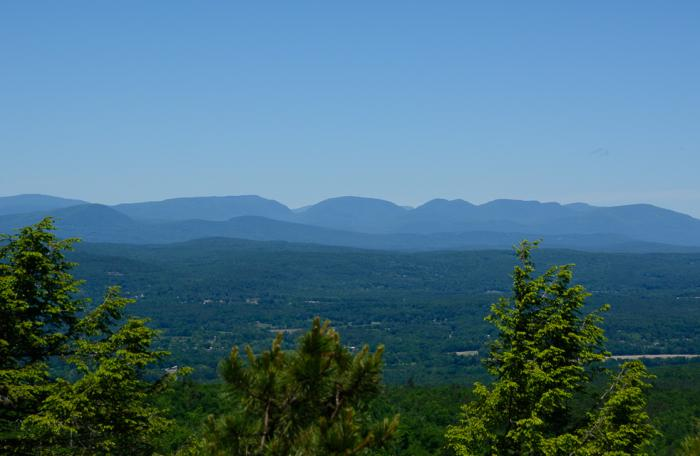 View of Catskills from Beacon Hill Minnewaska State Park - Bill Roehrig