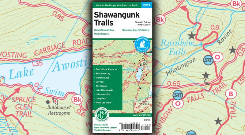 Shawangunk Trails Map News Item Graphic