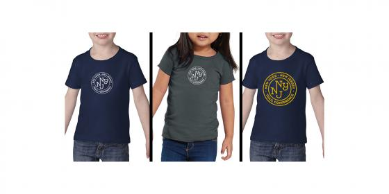 Toddler T-shirt Color Options