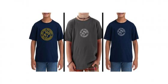 Youth T-shirt Color Options