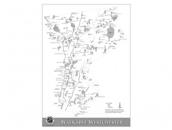 Walkable Westchester Locator Map